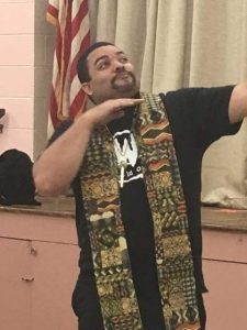 Pastor Smith's New Stole