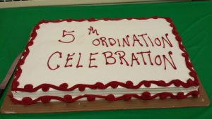 Pastor Smith's 5th Anniversary Ordination