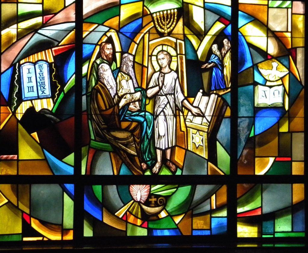 Word of God window