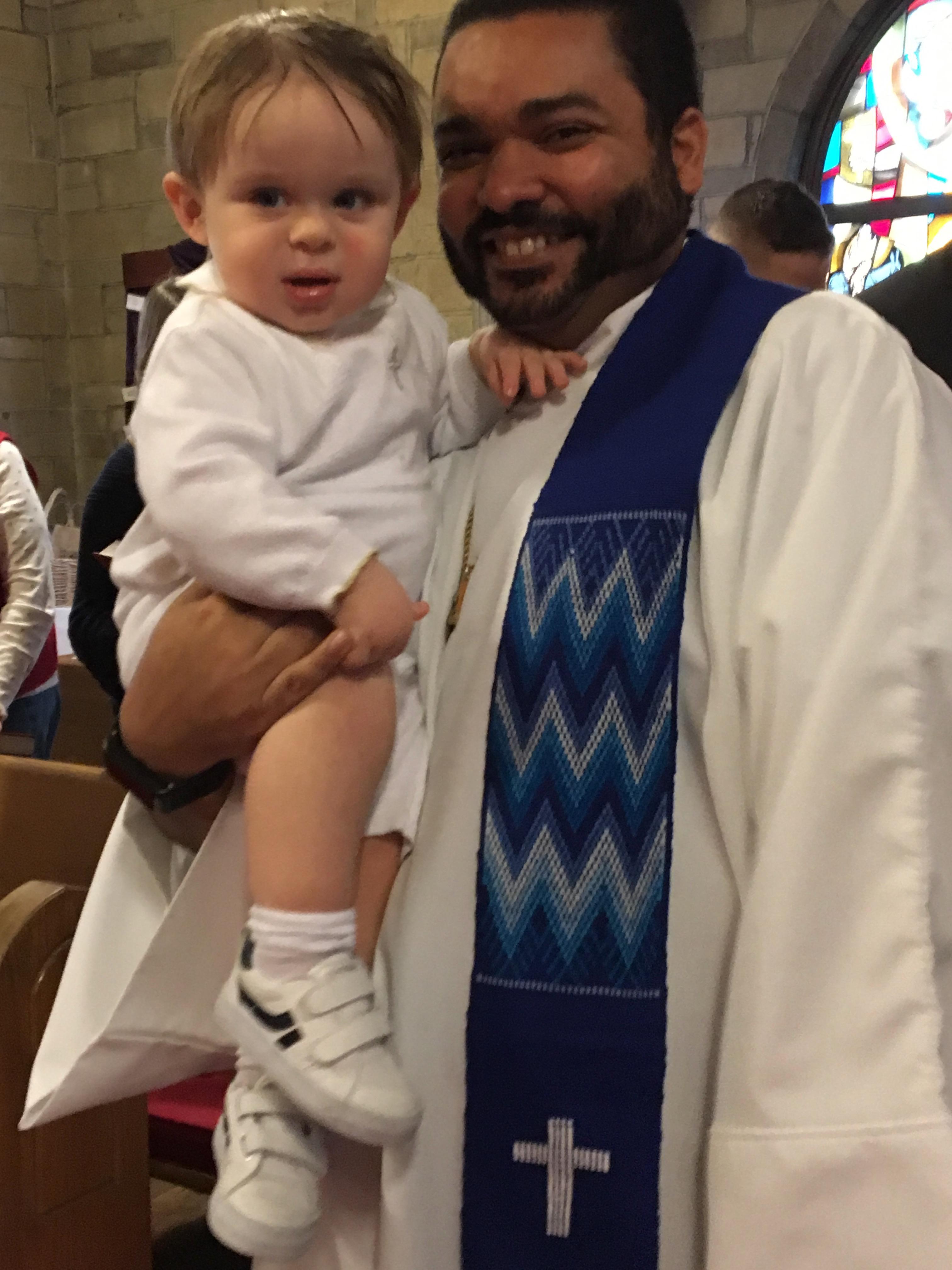 Pastor-baptism