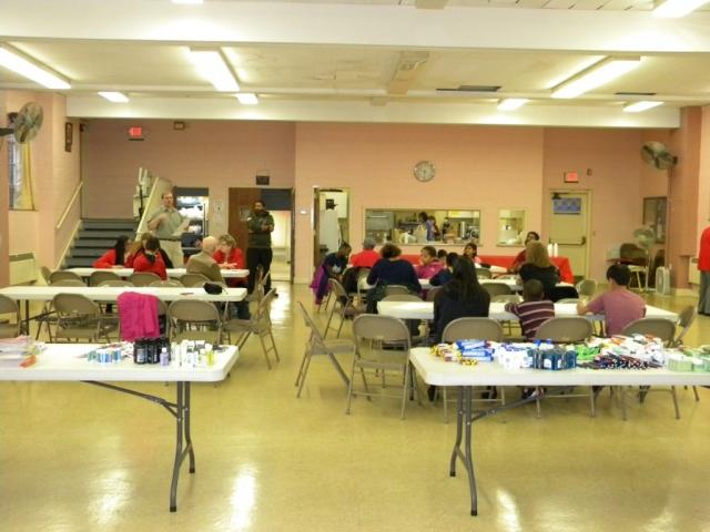 Bethlehem Lutheran Church Blessing Buddies-Packing for Veterans